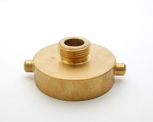 Brass Hydrant Adapter, Female to Male threads